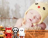 Halloween Photo Card SALE