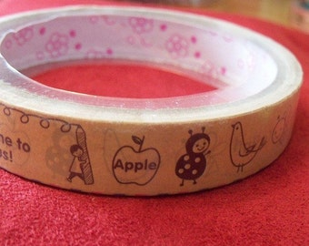 Decotape Kawaii Animal Circus 15m