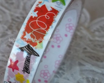 Deco Tape Kawaii I Love Mathematics 15m