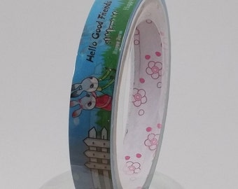 Deco Tape Kawaii Bunny Friends 15m