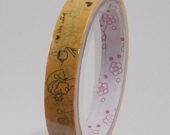 Deco Tape Kawaii Follow Your Heart 15m