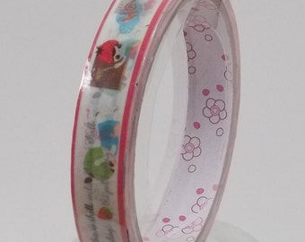 Deco Tape Kawaii Fruit Girl 15m