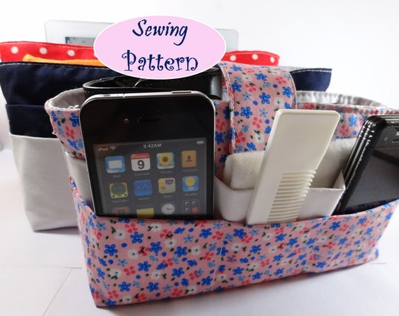 3 Sizes IPAD , Bag Organizer Tutorial ( Sewing Pattern Ebook ) No.2