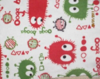 Christmas Ooga Cotton Interlock Knit Fabric