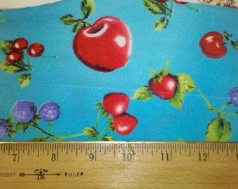 Apples, Berries Nylon Spandex Swim Suit Fabric