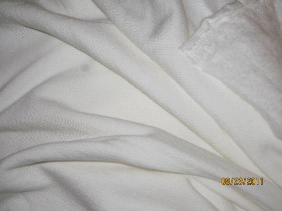 Organic Bamboo Fleece OBF Natural