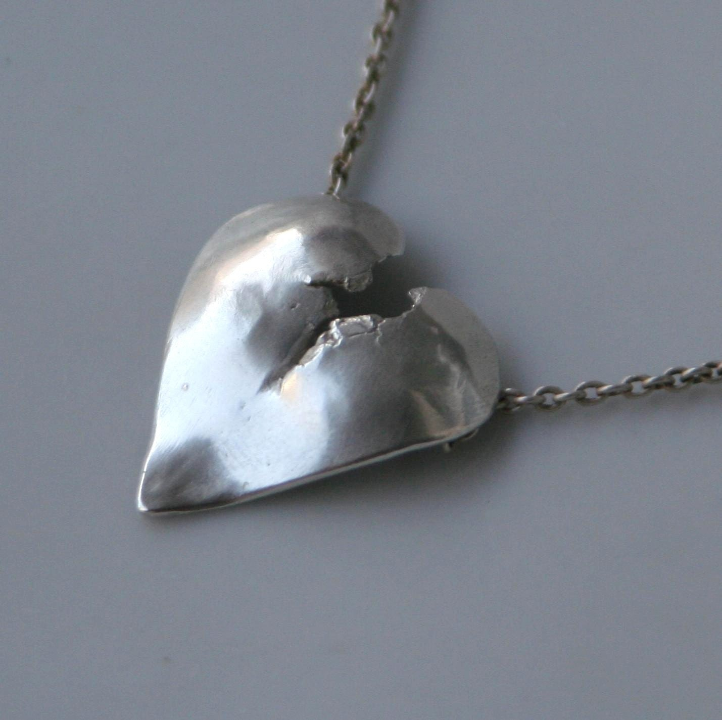 broken necklace or pendant in sterling by beatrizfortes