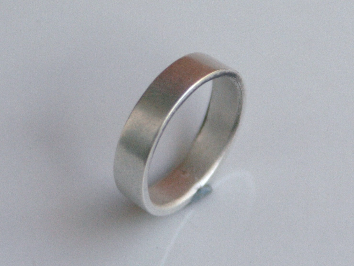 brushed silver ring or wedding band s by beatrizfortes