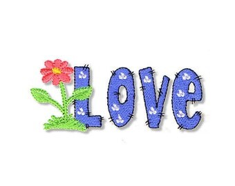 Love, 2 Sizes - Machine Embroidery