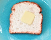 OVERSTOCK SALE!: Toast Bread Soap Slice with Butter Pad  - cute soap - food soap  - Freshly Baked Bread Scent