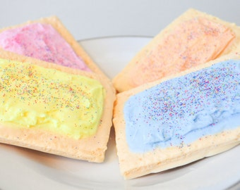 Pop Tart Soap - food soap - Toaster Pastry Soap