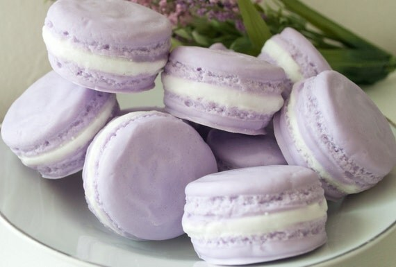 Custom order - 9 Soap shower favors - French Macaron Soap - party Favor - Baby Shower favor - Paris Theme - French Macaroon
