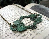 Patina Celtic Wreath Necklace