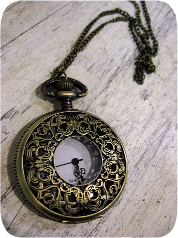 From Times Past Ornate Pocket Watch