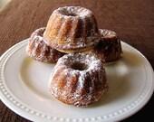 Custom Listing: Mini Pecan Pies & Mini Lemon Poppy Seed Bundt Cakes