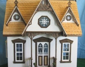 "Handmade Finished Doll House 1"" Scale"