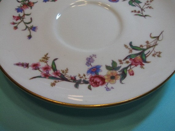 Vintage Wedgewood Bone China Small Plates