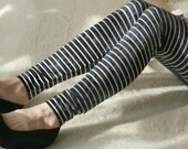 CLEARANCE SALE - Tie dyed leggings with white stripes