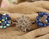 Vintage blues bracelet for moms with sparkle