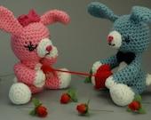 "CUSTOM Tuggin' At My Heartstrings - Valentine's Day ""Antigurumi"" amigurumi figure"