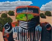 Painting and Prints Desert Varnish