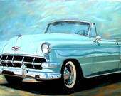 Painting and prints '54 Convertible