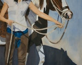 Prints of Shanti's Paint Horse
