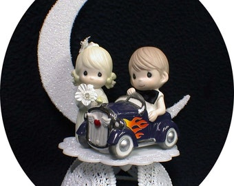 precious moments police wedding cake topper car wedding cake topper policeman w by yourcaketopper 18712