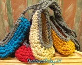 Buggs - Crocheted Ballet Slippers For Babies - Pick Your Color