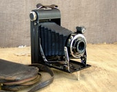 RESERVED for C.N. Antique French Folding Camera.