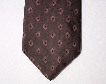 Vintage Calvin Klein Silk Tie - Mad Men Style