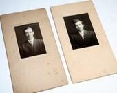 2 Dashing and Debonair Men -  Antique Photographs