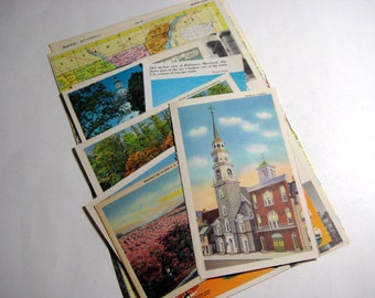 Maryland - United States Vintage Travel Collage Kit
