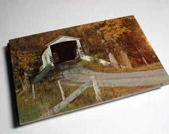 100 Vintage Pennsylvania Chrome Postcards Blank - Wedding Guestbook