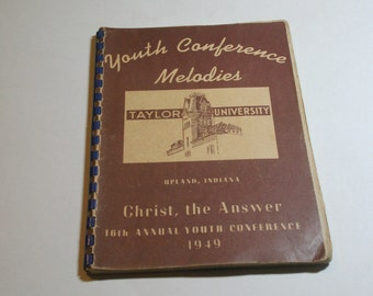 Youth Conference Melodies - Religious Sheet Music - 1949
