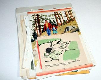 Vintage Ephemera Collage Kit  - Dear Old Dad