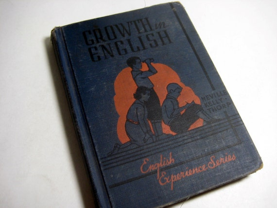 Growth in English Textbook- 1938