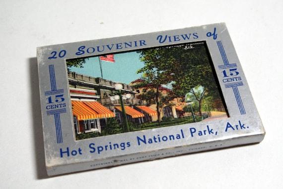 20 Mini Vintage Arkansas Souvenir Views