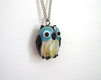 Tiny Owl Necklace
