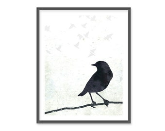 Birds and Branches - 8x10 Print