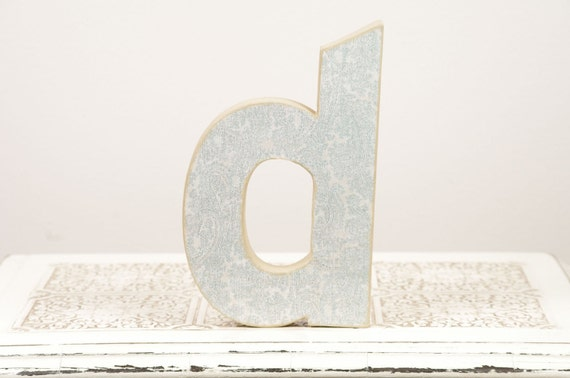 D is for Dad - Letter D Monogram - Cake Topper - Table Decor - Photography Prop - Birthday Party