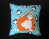 Little Penguins Tooth Fairy Pillow