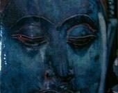 Blue Beauty Trivet