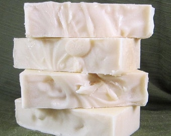 Unscented Goat's Milk Soap with Silk
