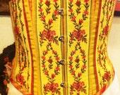 victorian underbust corset