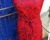 Little red vintage dress