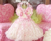 RESERVE for baby4340 LISTING Balance    Pink Lace and Ruffles Dress Form