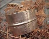 Feather Cuff Series: Arrow Cuff- Brass