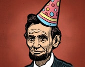 Abe Lincoln Birthday Prin...