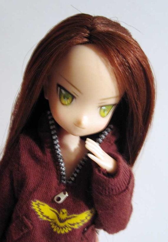 Robin - Custom repaint  Obitsu head for 1/6 21cm / 23cm / 25cm dolls (fleshtone)